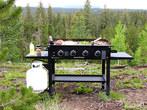 Blackstone 36 inch Outdoor Flat Top Gas Grill Griddle Station 4