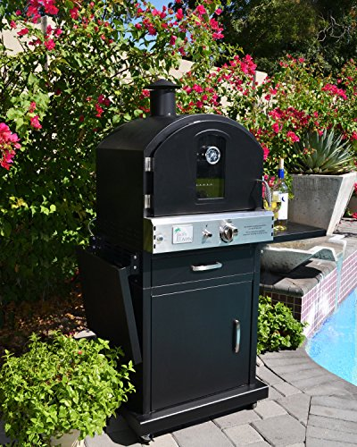 Pacific Living Outdoor Large Capacity Gas Oven With Pizza ...