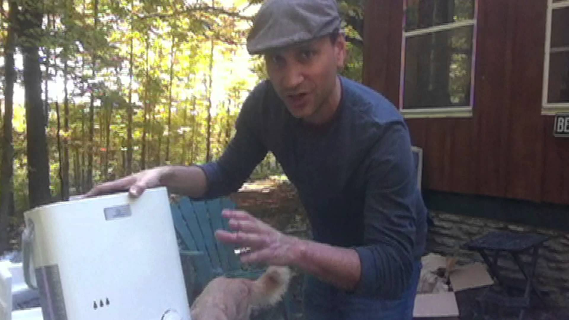 Tiny Cabin Off Grid Hot Shower Off The Grid Outlet
