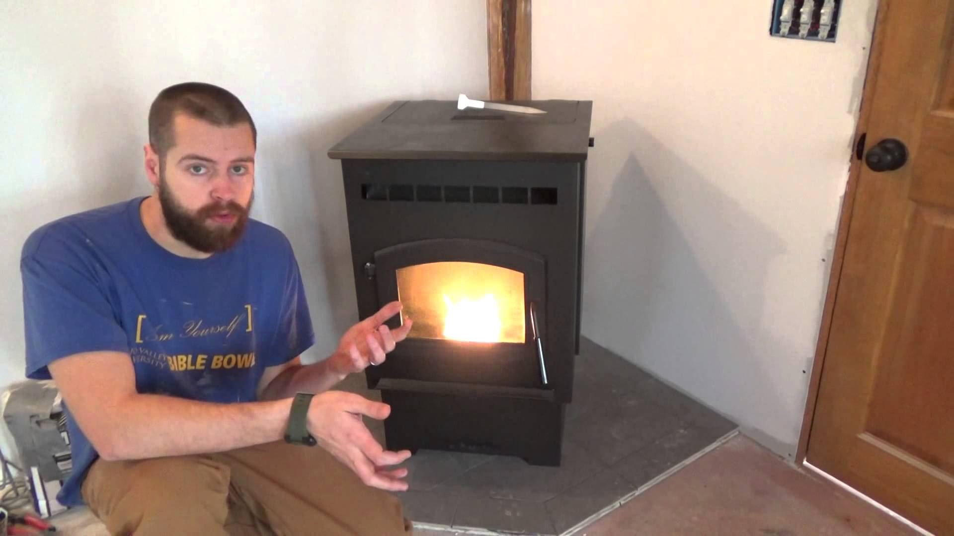 Heating A Tiny House With Pellet Stove