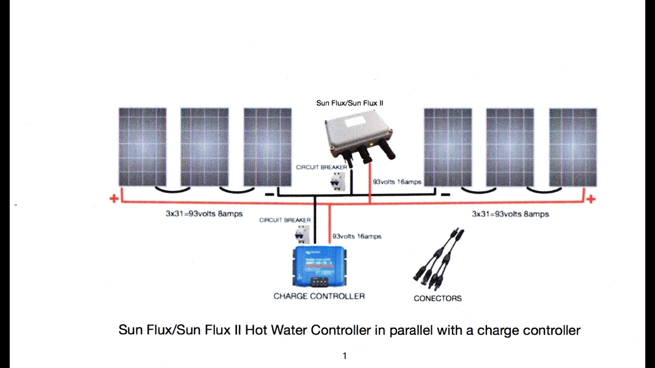 Off Grid Water Heating Sun Flux Ii Wiring Diagrams And Other Stuff Hot Diagram