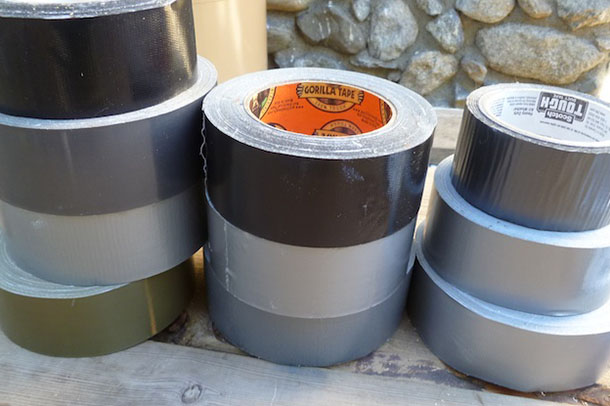 17 Amazing Ways Duct Tape Can Save Your Life (Hopefully You'll Never Have To Try No. 10)