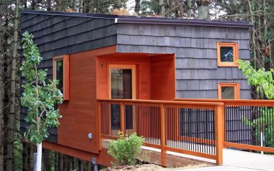 Whitetail Woods Tiny Cabins Provide Respite in a Metropolitan Park