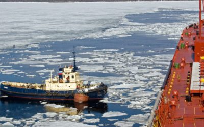 Excessive Ice In Arctic Now Blocking Oil And Natural Gas Shipments